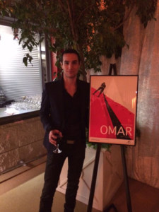 "Adam Bakri and ""Omar"" Poster"